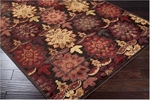 Surya Basilica BSL-7136 Chocolate/Brown Closeout Area Rug - Spring 2012