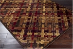 Surya Basilica BSL-7137 Chocolate/Dark Red Closeout Area Rug - Spring 2012