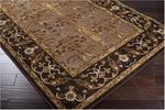 Surya Basilica BSL-7162 Raw Umber/Caramel/Dark Chocolate Closeout Area Rug - Fall 2012