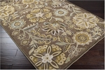 Surya Basilica BSL-7164 Kelp Brown/Raw Umber/Pigeon Grey Closeout Area Rug - Fall 2012