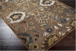 Surya Basilica BSL-7166 Coffee Bean/Sepia/Gold Closeout Area Rug - Fall 2012