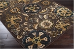 Surya Basilica BSL-7171 Kelp Brown/Raw Umber/Adobe Closeout Area Rug - Fall 2012