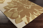 Surya Budding BUD-2004 Ivory/Gold/Lime Closeout Area Rug - Fall 2015
