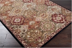 Surya Caesar CAE-1034 Red Clay/Army Green Area Rug