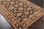 Surya Caesar CAE-1036 Dark Chocolate/Raw Sienna Area Rug