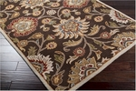 Surya Caesar CAE-1051 Dark Chocolate/Coffee Bean Area Rug