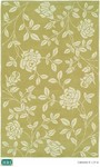 HRI Camelot II L-17-A Lime Closeout Area Rug