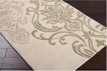 Designer Series DS040029 Ivory Fluer De Lis Rug