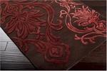 Designer Series DS040030 Chocolate Fluer De Lis Rug