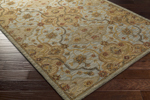 Surya Carrington CAR-1008 Feather Grey/Old Gold/Bronze Closeout Area Rug - Fall 2015