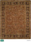 HRI Carlton 401 Brown/Dark Brown Closeout Area Rug