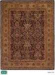 HRI Carlton 401 Dark Brown/Gold Closeout Area Rug