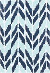 Surya Cape Cod CCD-1004 Mint/Navy/Ivory Closeout Area Rug