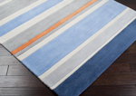 Surya Chic CHI-1040 Grey/Light Blue Area Rug
