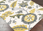 Surya Angelo Surmelis Chapman Lane CHLN-9004 Moth Beige/Lemon/Flint Grey Closeout Area Rug - Fall 2014