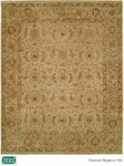 HRI Classical Elegance 400 Ivory/Ivory Closeout Area Rug