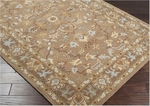 Surya Clifton CLF-1002 Driftwood Brown/Dark Khaki/Oyster Grey Closeout Area Rug - Fall 2014