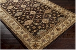 Surya Clifton CLF-1016 Hot Cocoa/Cream/Bay Leaf Closeout Area Rug - Spring 2014