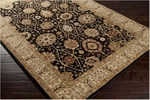 Surya Clifton CLF-1020 Ink/Taupe Beige/Light Copper Closeout Area Rug - Spring 2014