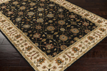 Surya Clifton CLF-1024 Black/Ivory/Olive Closeout Area Rug - Fall 2015