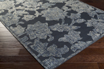 Surya Clarissa CLI-3001 Black/Moss/Ivory/Grey Closeout Area Rug