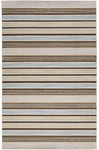 Surya Calvin CLV-1019 Bone/Slate Blue/Kelp Brown Closeout Area Rug - Spring 2014