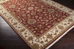 Surya Cambridge CMB-8003 Red Clay/Antique White Closeout Area Rug - Fall 2014