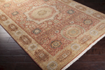 Surya Cambridge CMB-8008 Burnt Sienna/Light Copper Area Rug