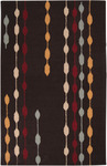 Surya Centennial CNT-1029 Chocolate/Gold Closeout Area Rug - Spring 2012