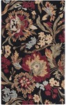 Surya Centennial CNT-1034 Black/Red Closeout Area Rug - Fall 2012