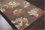 Surya Cosmopolitan COS-8910 Chocolate/Brown Closeout Area Rug - Fall 2011