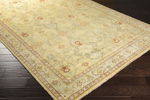 Surya Castle CSL-6000 Gold/Light Grey/Rust Area Rug