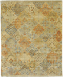 Surya Castle CSL-6008 Beige/Gold/Burnt Orange Closeout Area Rug