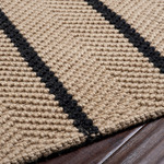 Surya Country Living Country Jutes CTJ-2007 Black/Natural Closeout Area Rug - Fall 2012