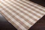Surya Country Living Country Jutes CTJ-2018 Tan/Praline/White Closeout Area Rug - Fall 2014