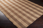 Surya Country Living Country Jutes CTJ-2026 Tan/Praline/Driftwood Brown Closeout Area Rug - Spring 2015