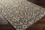 Surya Castille CTL-2004 Black/Light Grey/Olive/Charcoal/Chocolate Area Rug