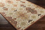 Surya Castille CTL-2005 Burgundy/Burnt Orange/Moss/Lime Area Rug