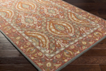Surya Castille CTL-2010 Burgundy/Olive/Navy/Tan/Chocolate Closeout Area Rug