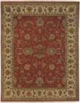 Surya Danila DAN-6002 Burgundy/Beige/Chocolate/Gold/Tan Closeout Area Rug