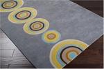 Designer Series DS040034 Grey Tunnels Vision Rug