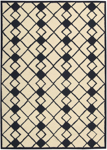 Nourison Decor DER03 IVNAV Ivory/Navy Closeout Area Rug
