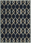 Nourison Decor DER04 NAV Navy Area Rug