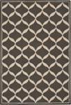 Nourison Decor DER06 GRYWT Grey/White Area Rug