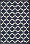 Nourison Decor DER06 NAVWT Navy/White Area Rug
