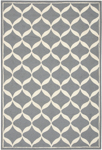 Nourison Decor DER06 SLTWT Slate/White Area Rug