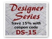 Save 15% on Designer Series Rugs with coupon code DS-15.