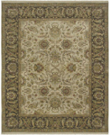 Surya Dinar DIN-1591 Ivory/Olive/Olive/Gold/Chocolate Closeout Area Rug