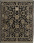 Surya Dinar DIN-1592 Black/Olive/Olive/Chocolate/Ivory Closeout Area Rug