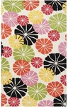 Surya Dreamscape DRE-4407 Winter White/Jet Black/Canary Yellow Closeout Area Rug - Spring 2013